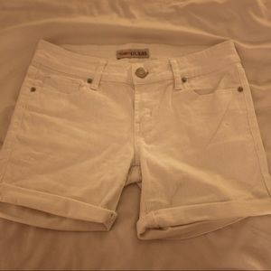 guess low rise shorts